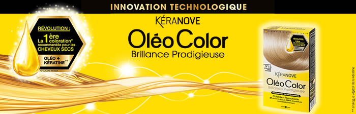 keranove oleocolor - Keranove Coloration Sans Ammoniaque