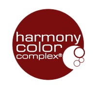 Tone-on-tone ammonia-free hair color with a mixing ratio of 1:2