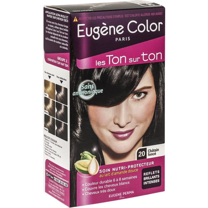Tone on tone hair color dark - Violet prune couleur ...