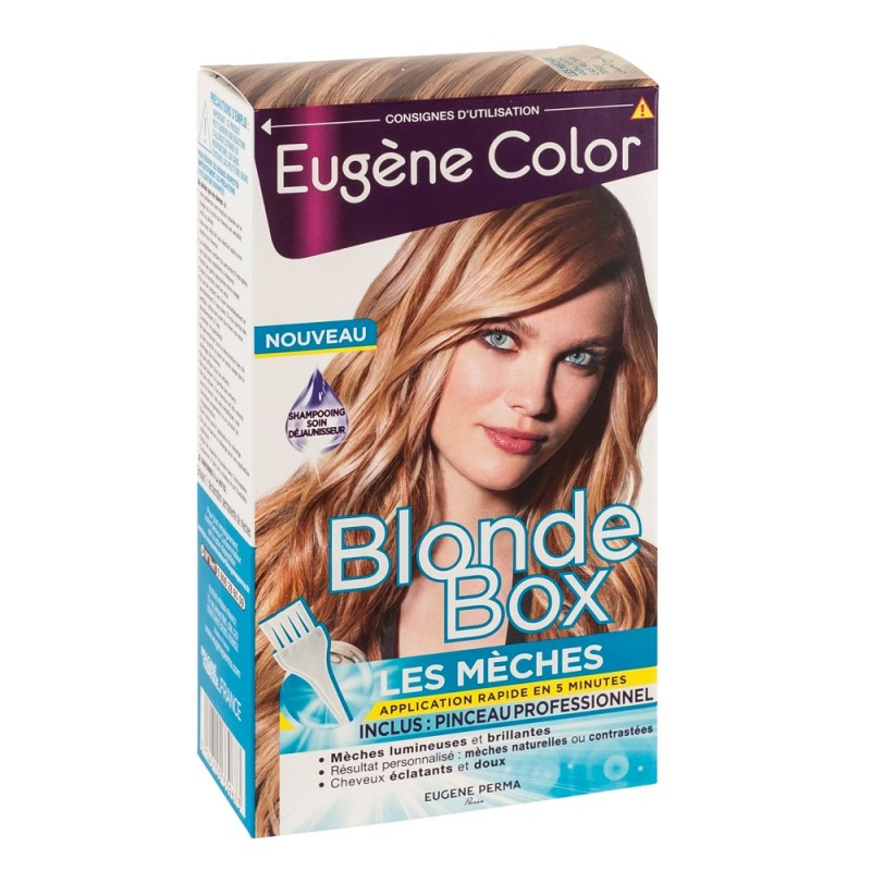 le kit mches blonde box eugne color - Coloration Meche Blonde