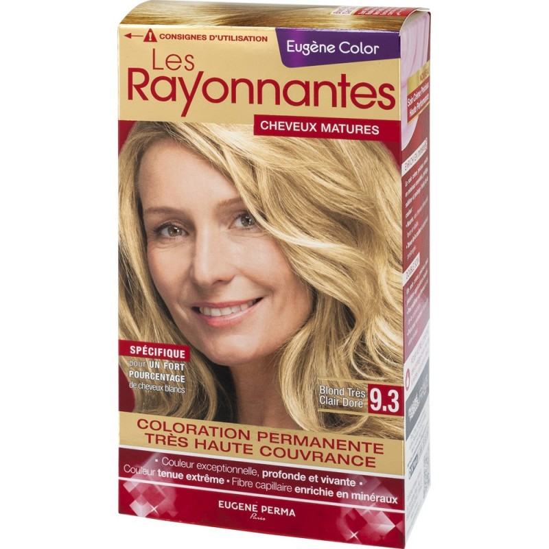 les rayonnantes deugne color - Coloration Eugene Color