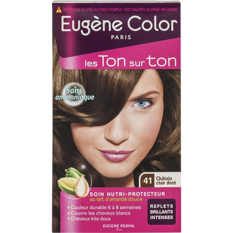 eugne color - Coloration Chatain Trs Clair