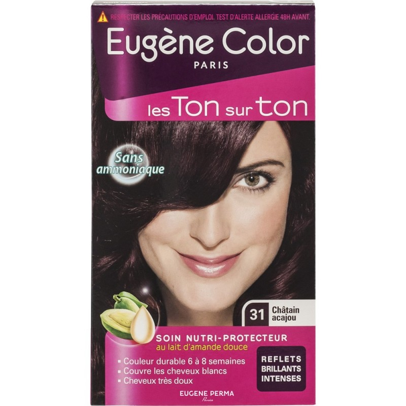eugne color - Coloration Chatain Acajou