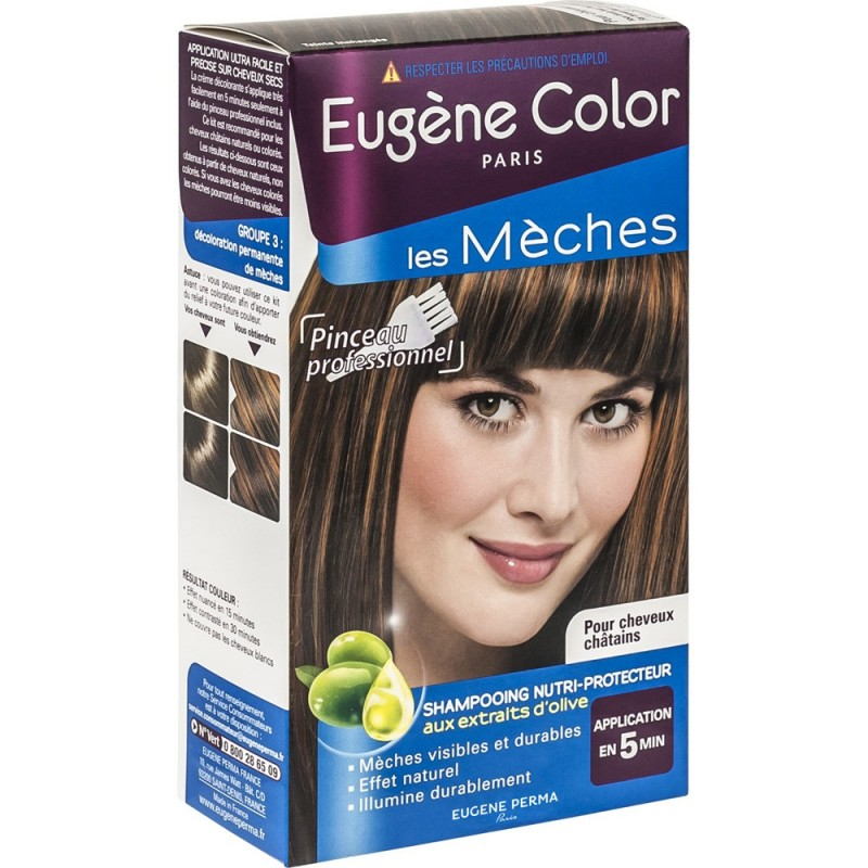 Balayage les m ches ch tain eug ne color - Coloration meche blonde ...
