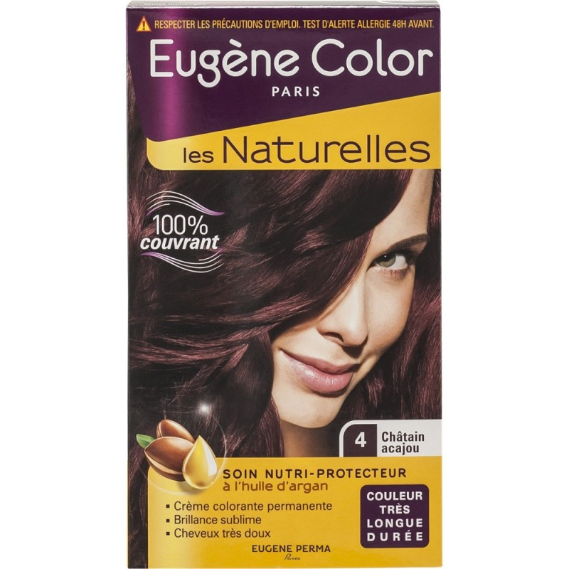 Coloration Permanente Les Naturelles Ch 226 Tain Acajou