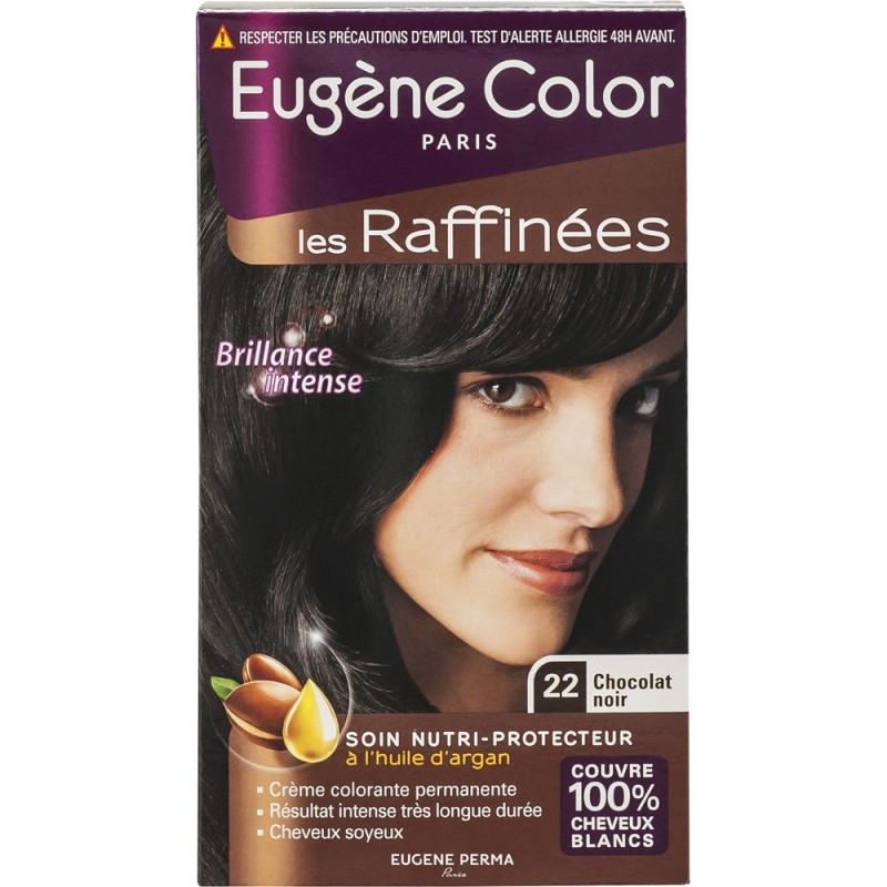 eugne color - Marron Chocolat Coloration