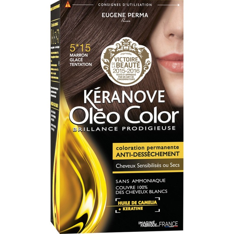 kranove olo color 515 - Keranove Coloration Sans Ammoniaque